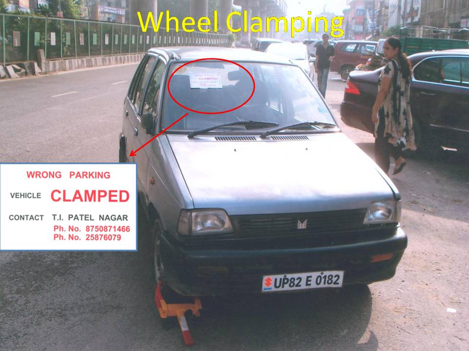 Wheel Clamping